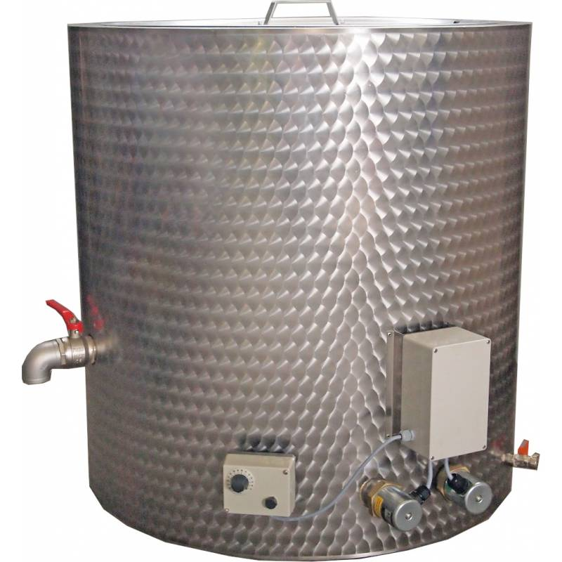 Tanque esterilizador de cera 300L RIETSCHE Fundidores de cera