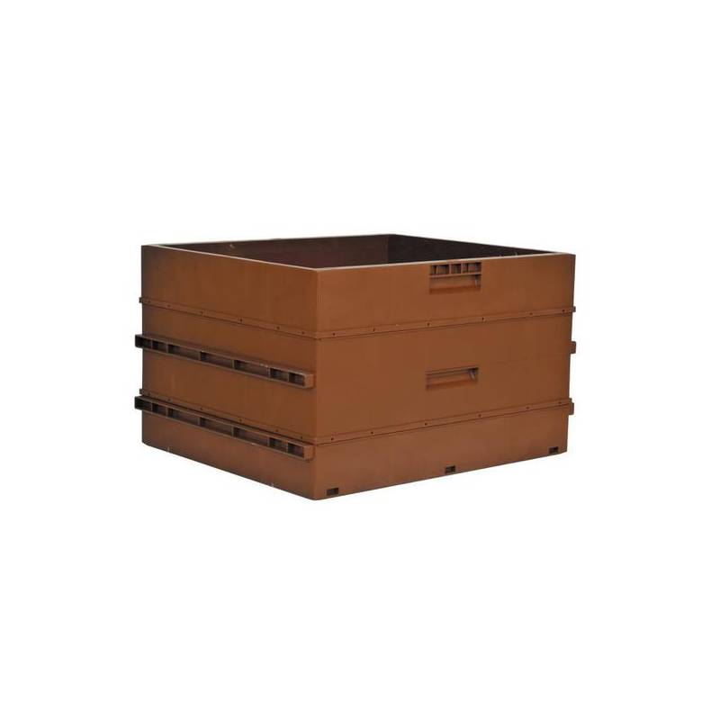 French Dadant Blatt brood box NICOT Plastic beehives and frames