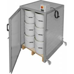 Honey drum heating cabinet Honey heaters