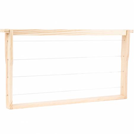 Langstroth frames PREMIUM (wire tightened and with eyelet) Langstroth Beehives