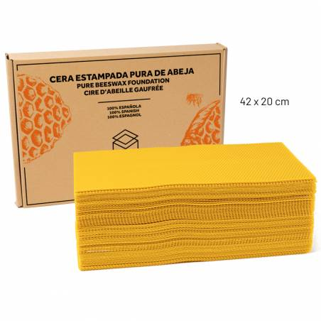 Beeswax Foundation 5kg BEESWAX
