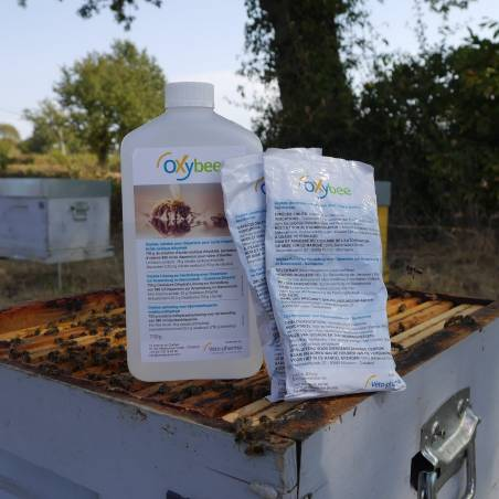 Oxybee 1L (30 ruches) Les médicaments contre le Varroa