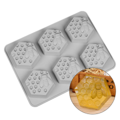 Soap moulds honeycomb Candles and moulds