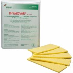 Thymovar Varroa treatments