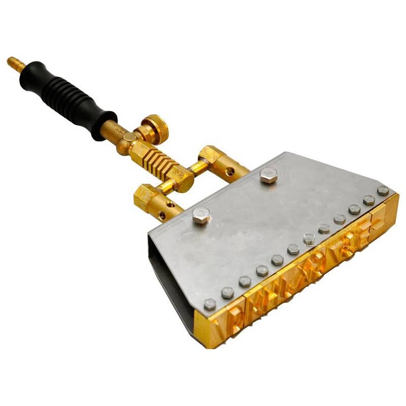 Marcador a fuego para colmenas 12 caract. Marcadores colmena