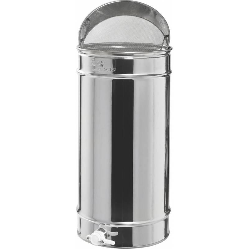 Maturateur 120 kg avec filtre en acier inoxydable Maturateurs du miel