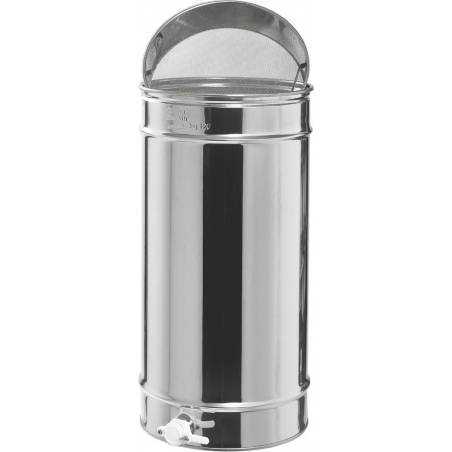 Honey tank 120kg with sieve Honey tanks