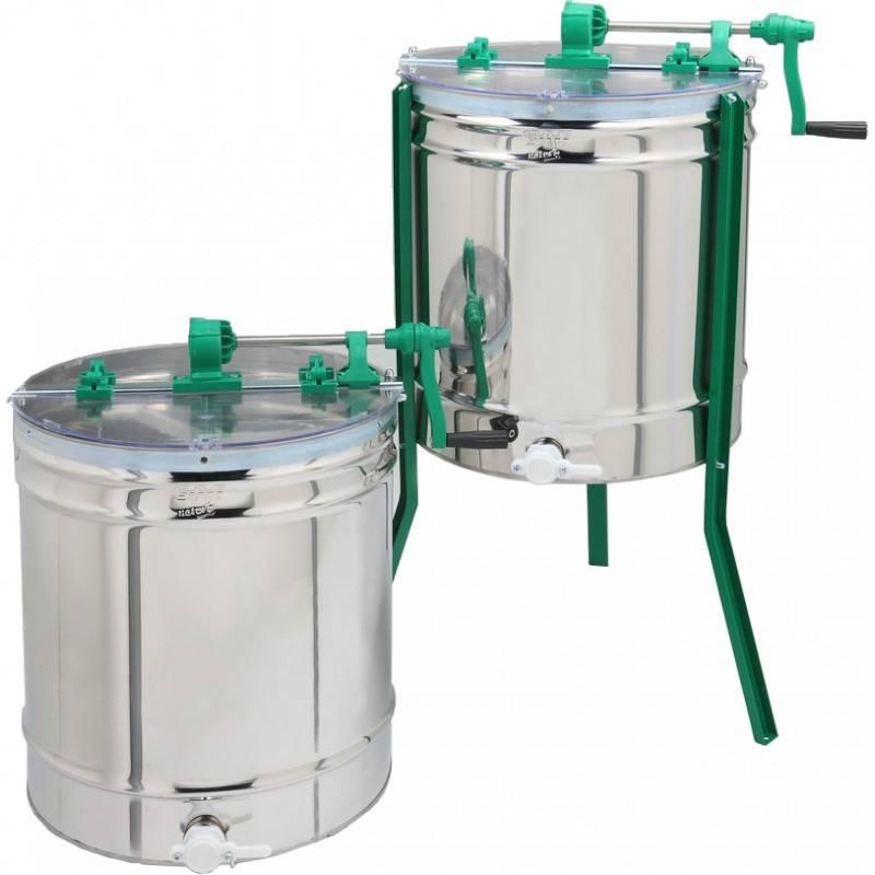 Extractor FUEGO 4 cuadros universal manual Extractores de miel