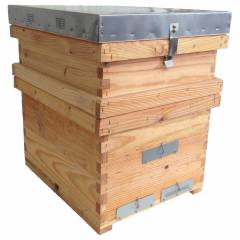 Dadant Beehive assembled Dadant Beehives