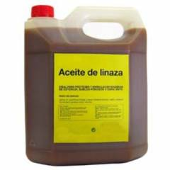 Linseed oil for wooden hives 5 liters Paint and oils for beehives
