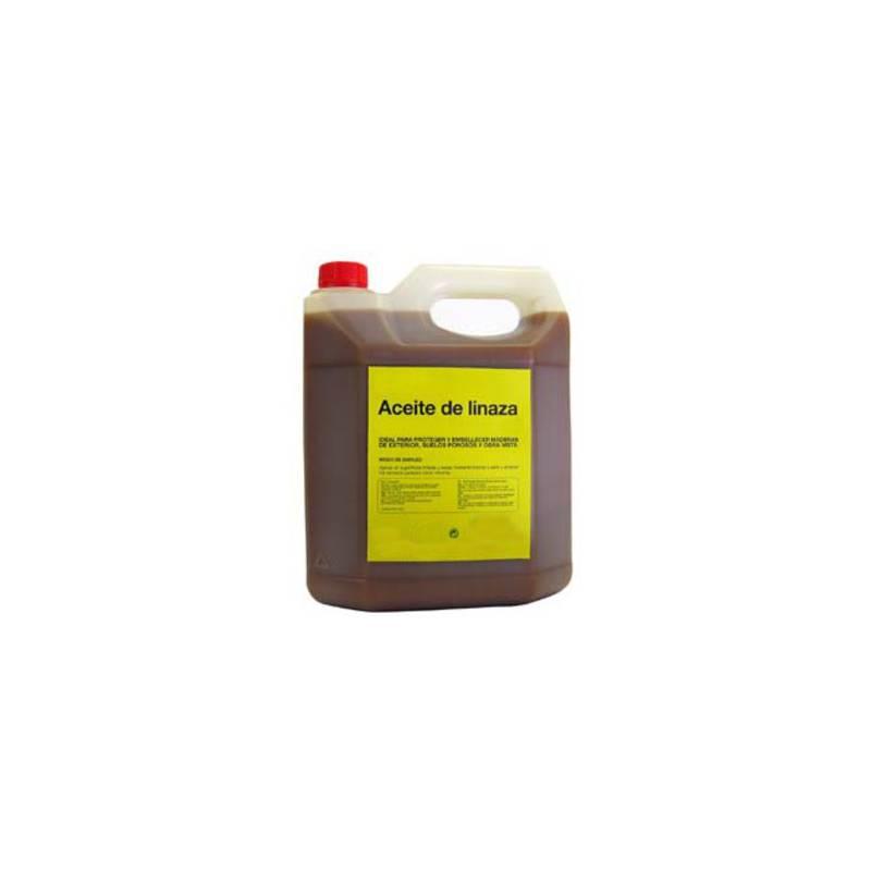 Huile de lin sans dessicant 5L Peintures et protection de la ruche