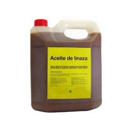 Aceite de Linaza sin secante 5l Pintura y aceites para colmenas