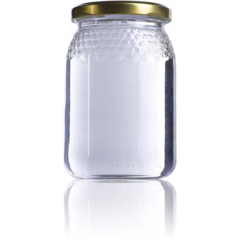 Pot de miel 0,5kg alvéoles Emballage