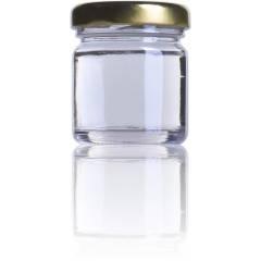 Pot en verre 1,5 once Emballage