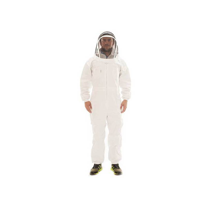 Beekeeping suit with fencing veil CLOTHING