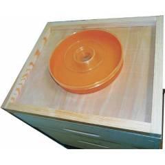 Plastic round feeder 1kg Feeders