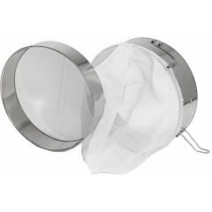 Filtro inox d.30 saco de nylon