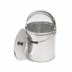 Honey bucket 30kg with sieve