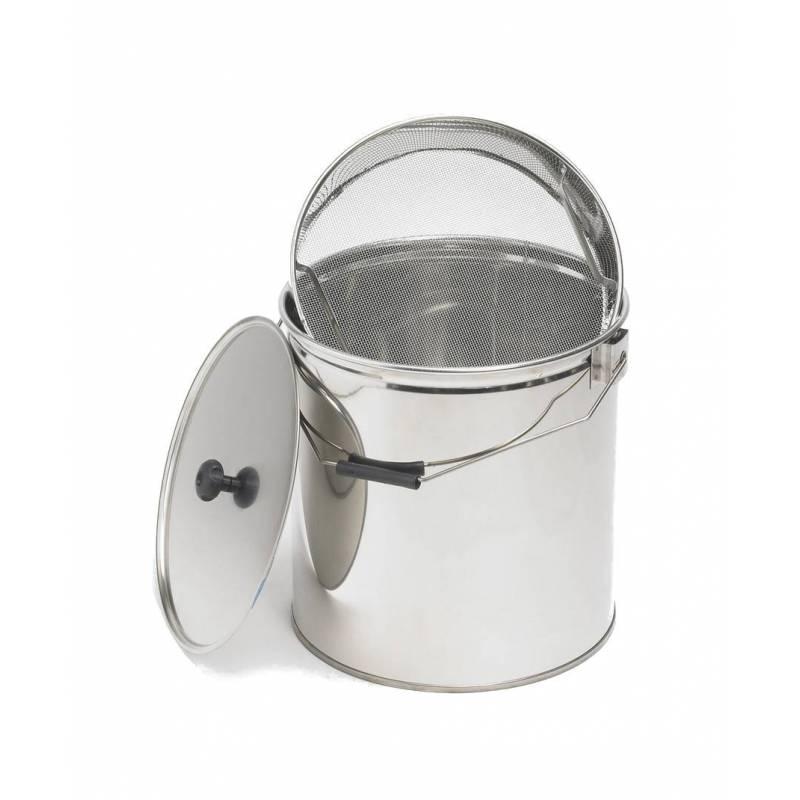 Honey bucket 30kg with sieve Honey tanks