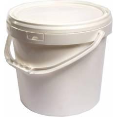 Cubo de plástico blanco 18 litros ENVASES