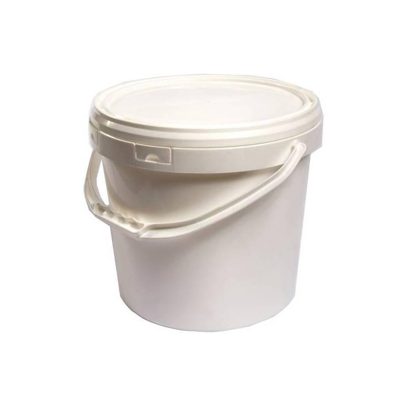 18L Tapered White Bucket HONEY PACKAGING