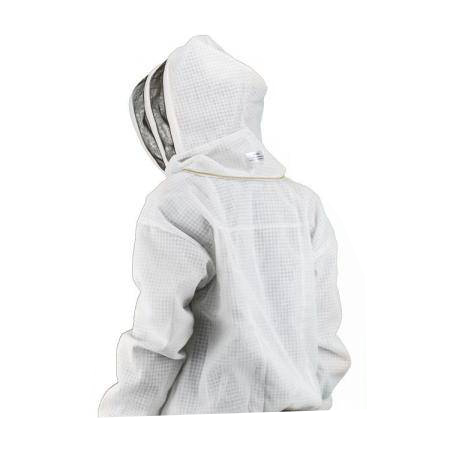 Vented Jacket with fencing veil CLOTHING