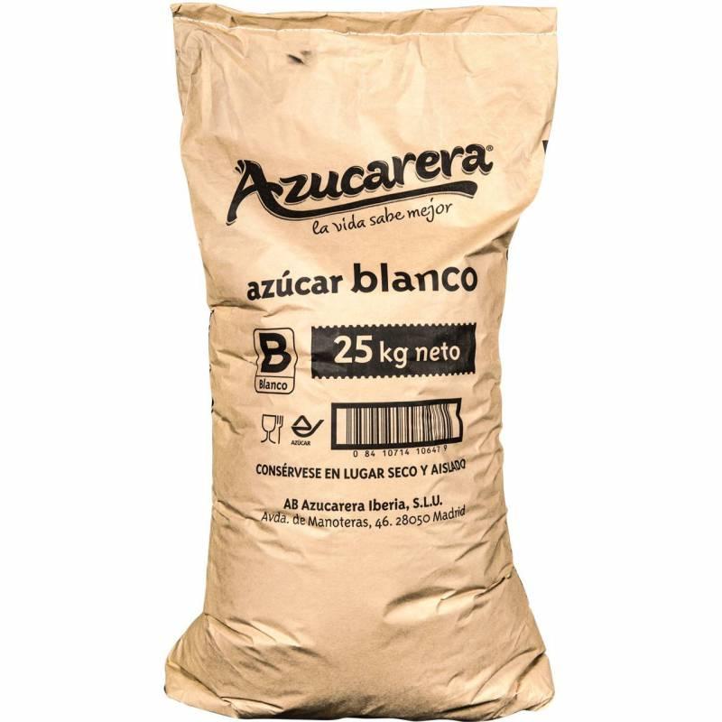 Azúcar Blanco 25kg Materias primas