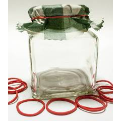 Jar rubbers Decoration
