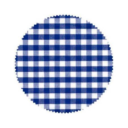 Pack 20 Cubretapas VICHY azul Decoración