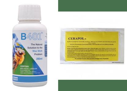 B401 y CERAPOL, dos productos del mercado